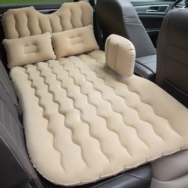 2018 High Quality Top Selling Car Back Seat Cover Travel Mattress Air Inflatable Bed With Pump
