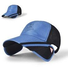 Adjustable Fishing Caps Outdoor Sports Men's Fishing Hats Travel Mountain Climbing Hunting Sunshade Hiking Caps M05