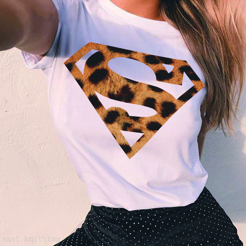 ZOGANKI Hot Sales Summer Women   T  -  shirt   White Tee Cool Women Tee   Shirt   Short Sleeve Tops Tee Female Casual O-neck Tshirt Tops