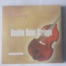 Профессиональные двойные басовые струны из никелевого медного сплава, прямые басовые струны, аксессуары