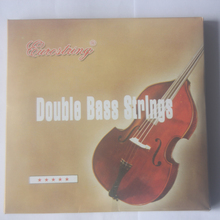 Professional Double Bass Strings Nickel Copper Alloy Upright Bass String Accessories Free Shipping cheap MoonEmbassy