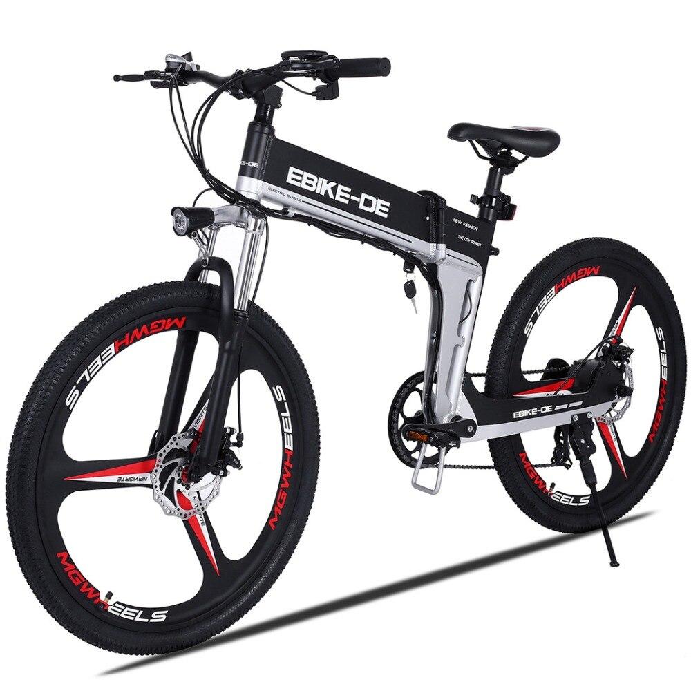 ANCHEER Cidade EBike Bicicleta Elétrica Da Bateria De Lítio Bicicleta Elétrica Da Liga de Alumínio bicicleta de Estrada de Montanha Bicicleta Electrica Plugue DA UE