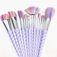 Professional Makeup Brush Set 10pcs Fantasy Set High Quality Makeup Tools Brushes Free Shipping