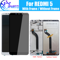 5.7 inch For Xiaomi Redmi 5 LCD Display Digitizer + Frame 100% Original 10 Touch LCD Screen for Redmi 5 Replacement
