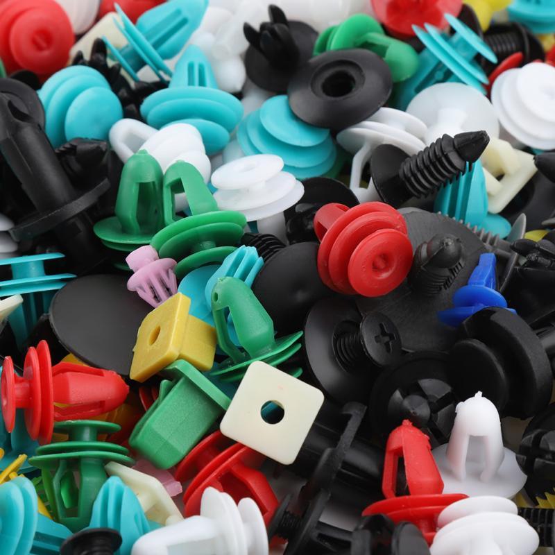 Image 2 - 500Pcs 30 Sizes Assorted Plastic Car Door Trim Clip Bumper Fastener Retainer Rivet Push Pin Kit Car Moulding Clip Panel Retainer-in Auto Fastener & Clip from Automobiles & Motorcycles