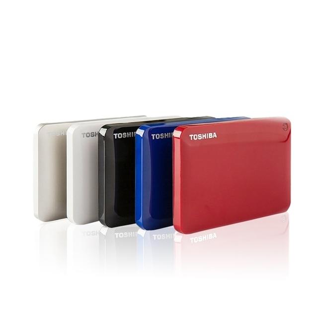 Toshiba v9 canvio 1 TB 2 TB HDD externo HD cifrado portátil unidad ...