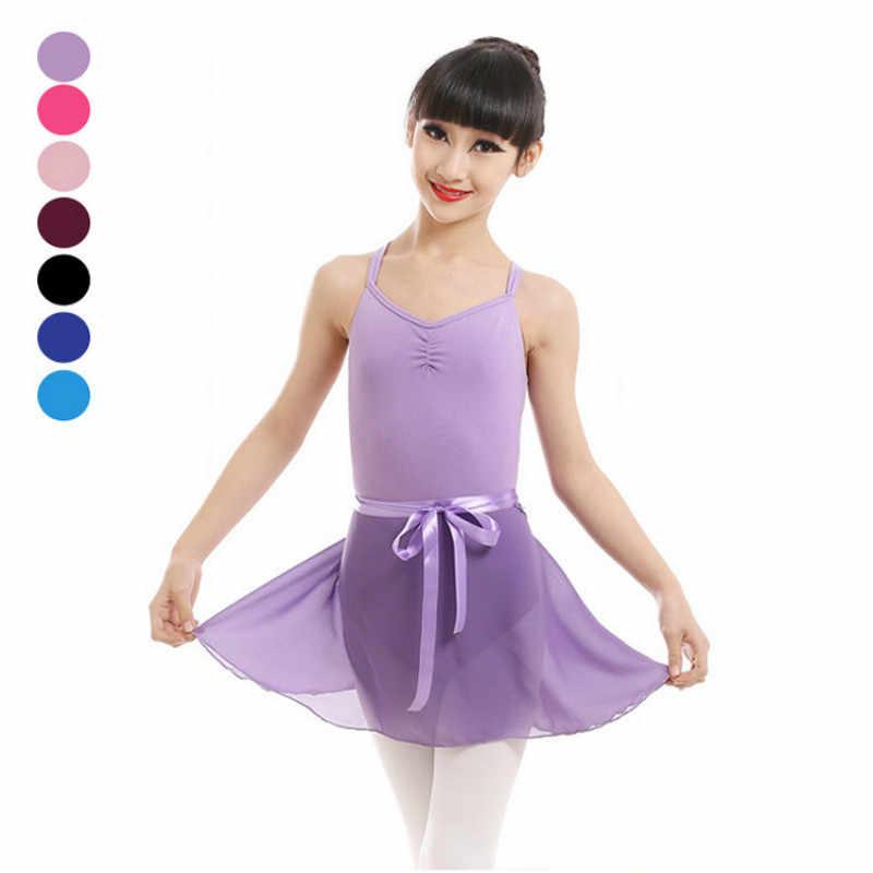 Enfants enfants Tutu ballerine Infantil gymnastique justaucorps à vendre Skate été en mousseline de soie élastique Ballet danse Tulle jupe pour fille