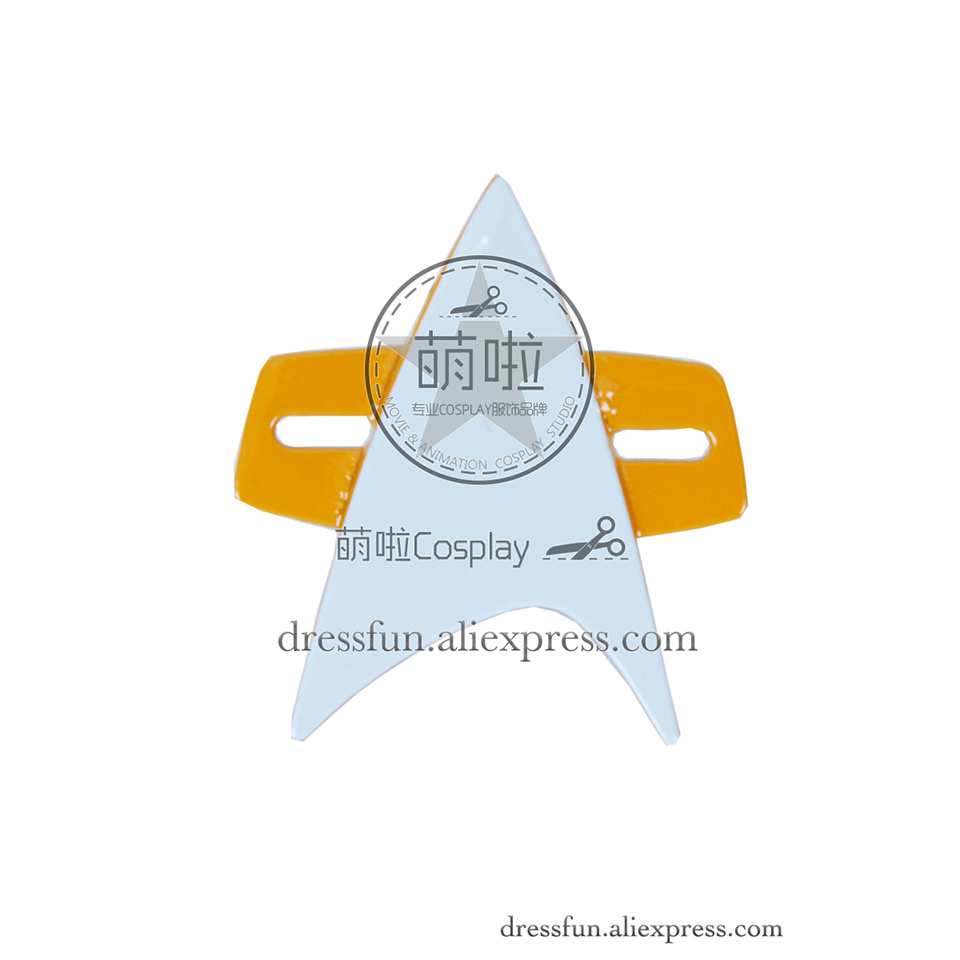 Star Trek Style B Cosplay Brooch Metal Badge Accessories Halloween Fashion Party Fast Shipping Detachable Accessory