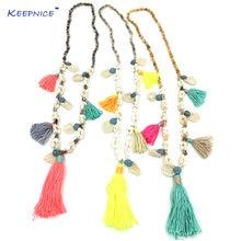Цепочка с подвесками ручной работы креативное ожерелье кулоном