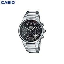 Наручные часы Casio EF-500D-1A мужские с кварцевым хронографом на браслете