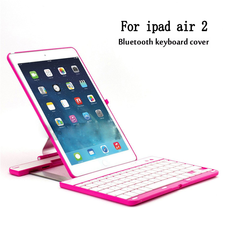 Wireless Bluetooth Keyboard for iPad Air 2 Protective Cover Case Foldable Holder Keyboard for iPad Air 2 foldable bluetooth v3 0 keyboard for ipad air black
