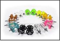 NOVATEC (long margin) A565 / A566 Fixed Gear Bike Hub Bearings color hub