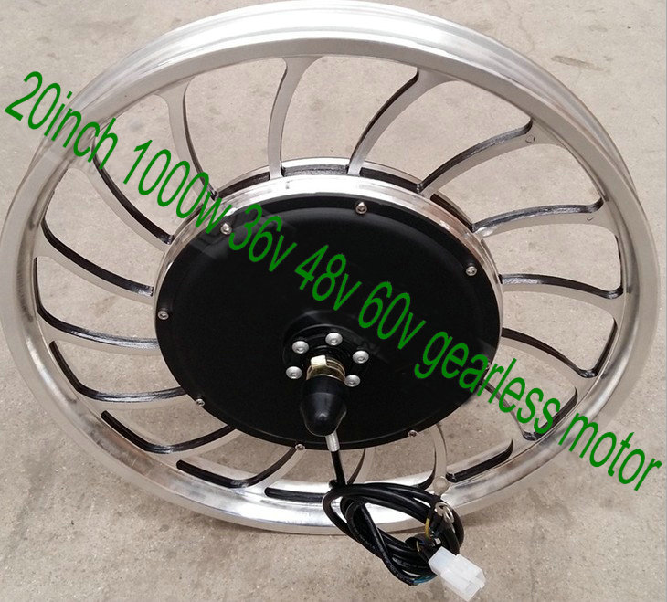 20inch BLDC hub motor with wheel gearless with hall sensor 36V48V60v 1000w for electric scooter bike motorcycle 20*2.5/20*2.125 economic multifunction 60v 500w three wheel electric scooter handicapped e scooter with powerful motor