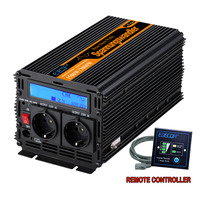 pure sine wave power inverter DC12V to AC220V 1500 watt Peak 3000w outdoor home school frequency inverter