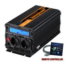 Чистая синусоида Инвертор DC12V к AC220V 1500 Ватт-пик 3000 w открытый Главная Школа преобразователь частоты