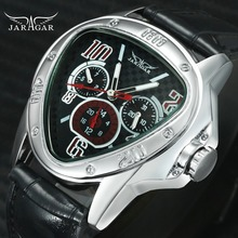 Fashion Luxury Men Automatic Mechanical Wrist Watches Top Brand WINNER Triangle Men s Watches 3 Sub