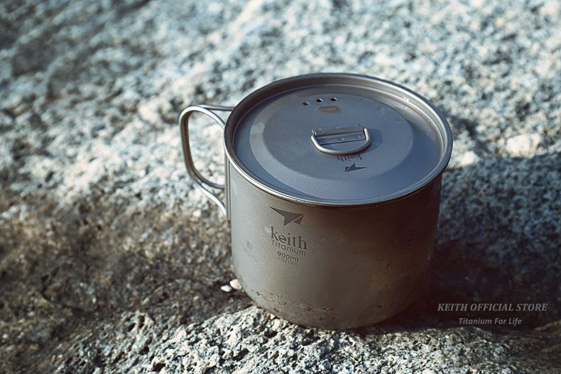 titânio drinkware copos de acampamento ultraleve caneca de viagem 300 ml-900 ml
