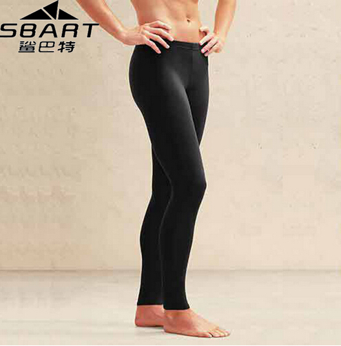 SBART Mens Diving Pants Deportivas New Yoga Pants Plus Size Rash Guard Pant Leggings Black Gym Fitness Men Tight