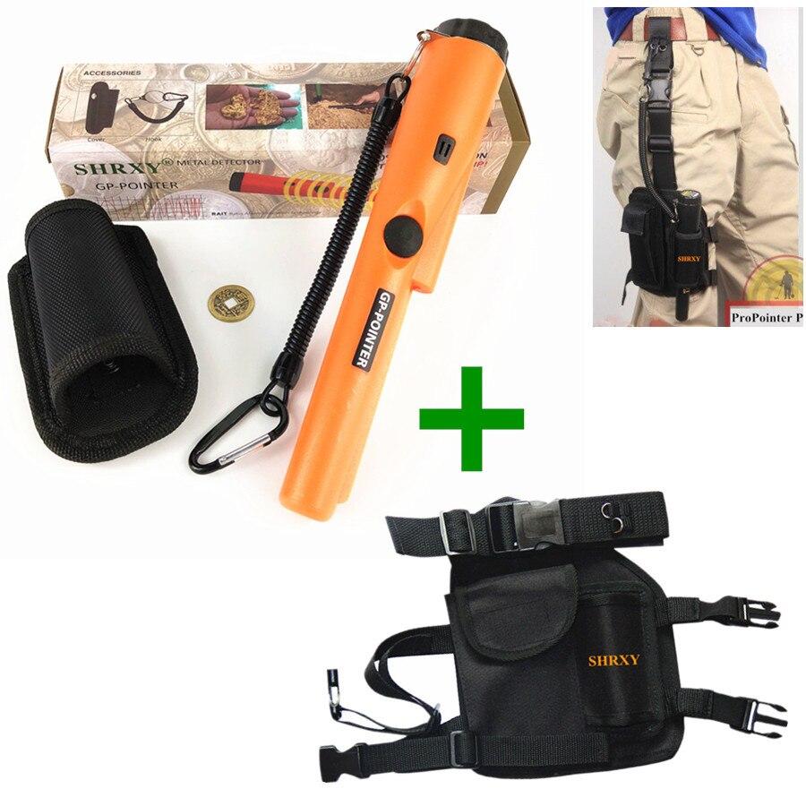 Dynamisch Shrxy Pro Pinpointers Metaaldetector Gp-pointer Schattenjacht Goud Detector Garrett Dezelfde Stijl Met Drop Leg Pouch Pocket Set Klanten Eerst