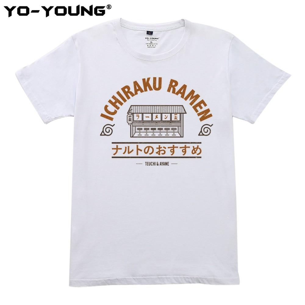 Anime Naruto Ichiraku Ramen T Shirts Ανδρικά Ψηφιακές - Ανδρικός ρουχισμός - Φωτογραφία 4