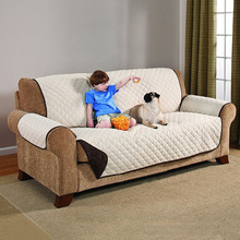 new 2019 Quilted Sofa Arm Chair Settee Pet Protector Slip Cover Furniture Cushion Throws 2019YU-Home