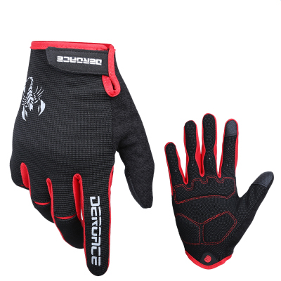 Touch-screen autumn riding gloves all means Mens and womens mountain bike long gloves cycling equipment