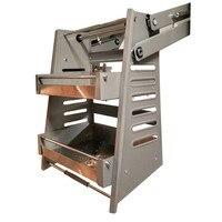 Lift Kitchen Storage Drawers Basket Stainless Steel Folding Kitchen Cabinet Drawer Pull Basket Drawer Organizer High Quality