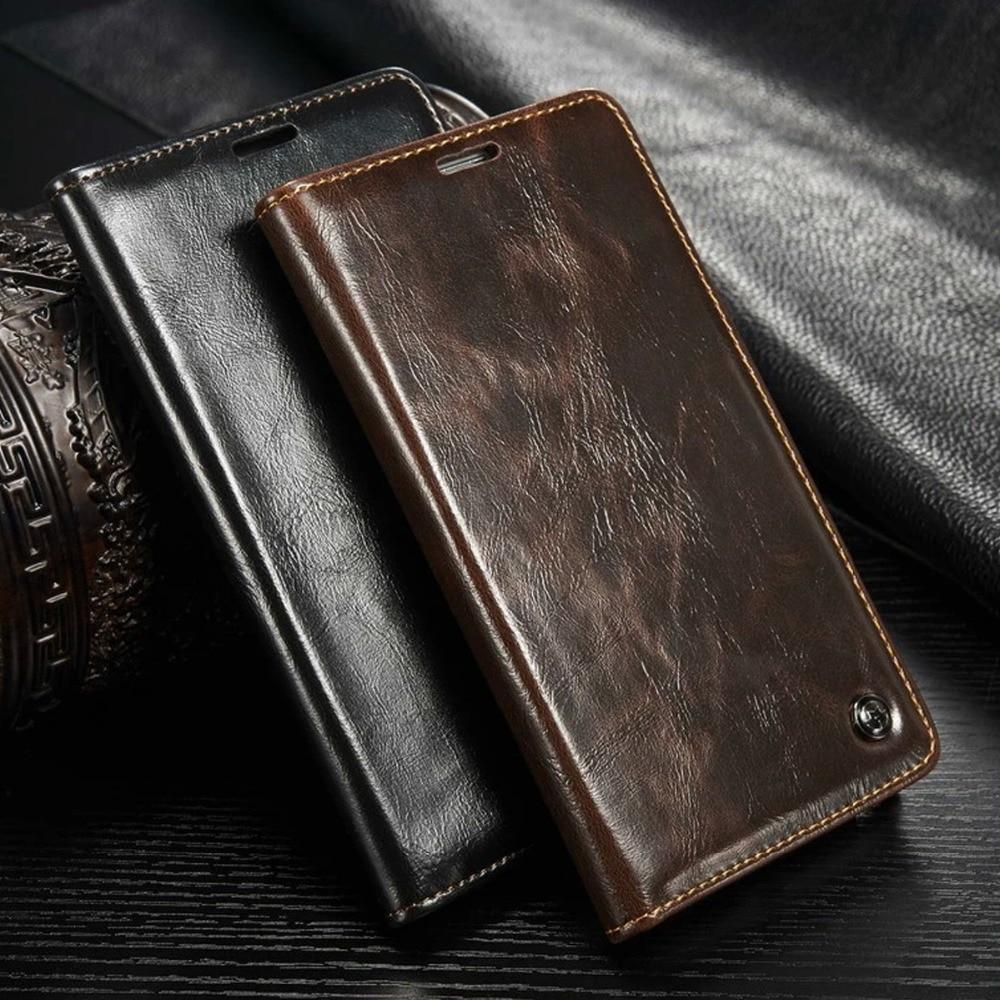 CaseMe 03 Flip Case For Samsung Galaxy S4 S5 Case Luxury Leather Cover Fundas Capinha Coque