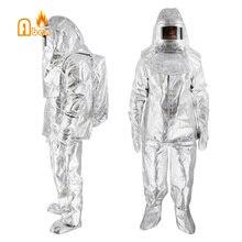 Может Устойчив 1000 градусов пожарный спасательный костюм
