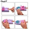CkeyiN 1 Set Professional Nail Art DIY Pattern Printing Manicure Machine Stamp Stamper Tool Colors Drawing Polish Nail Printer