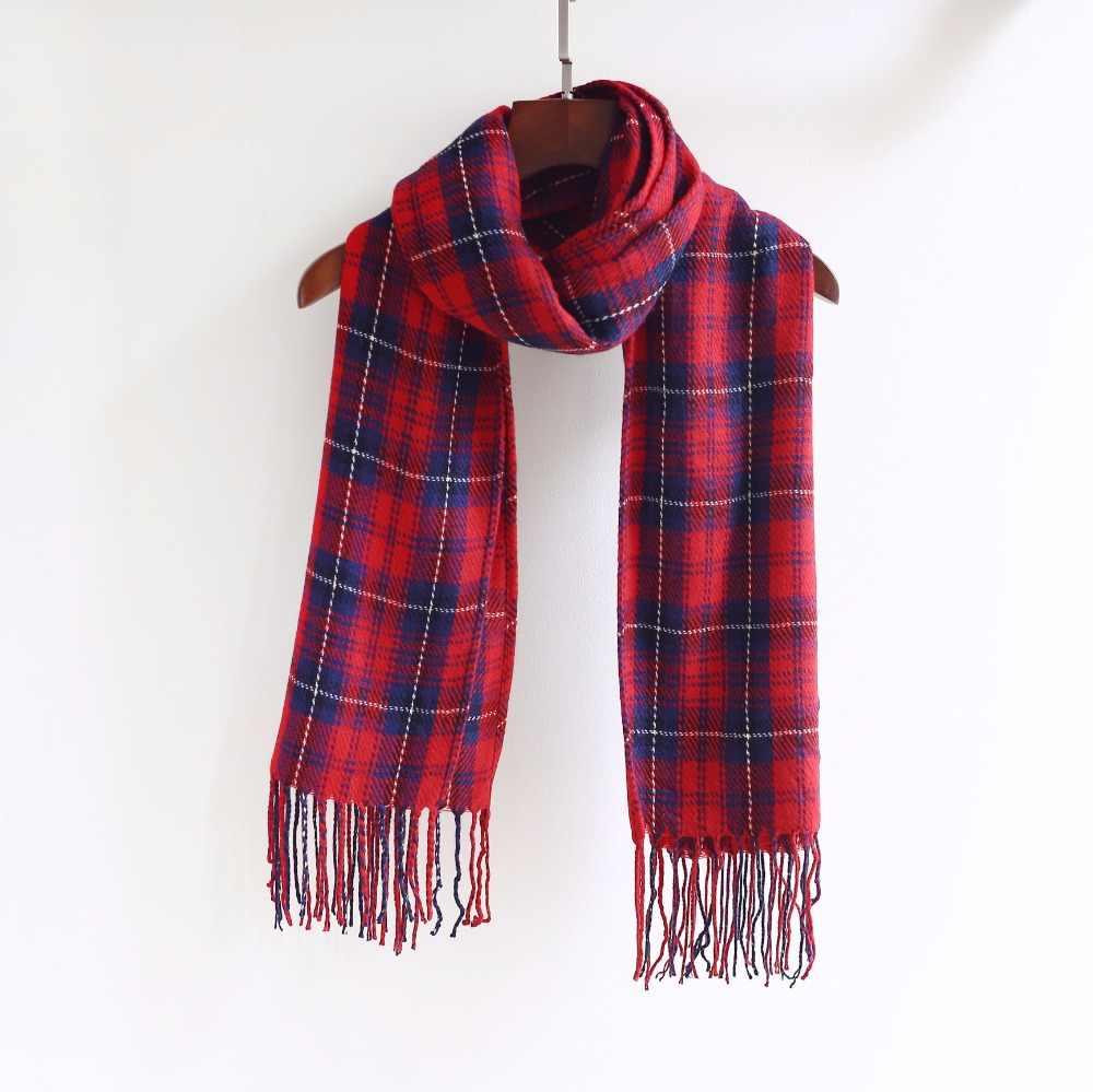20 colores nueva de moda de Mujeres de imitación de lana Pashmina pañuelo de invierno larga de primavera de las mujeres bufanda chales Mujer