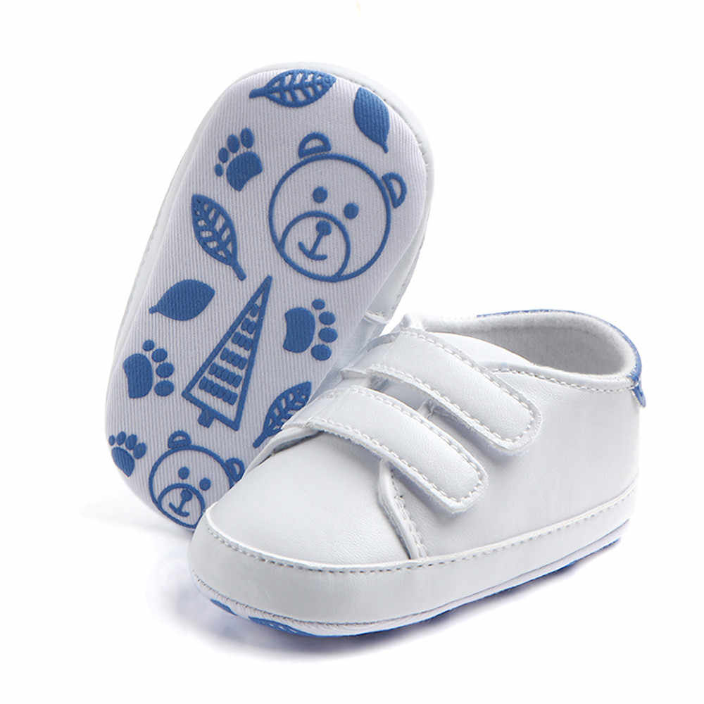 New Hot Cute Solid Infant Toddler Baby Boy Girl Soft Sole Crib Shoes Sneaker Newborn bebek ayakkabi Great For Baby gifts #06