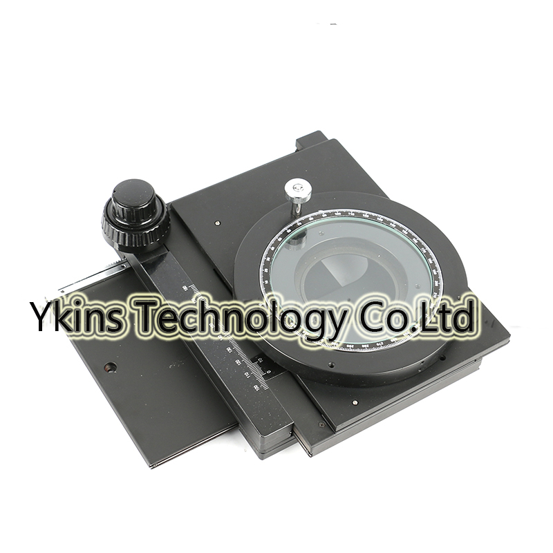 360 degree rotating table stage microscope table detachable XY axis stage for video stereo microscopes