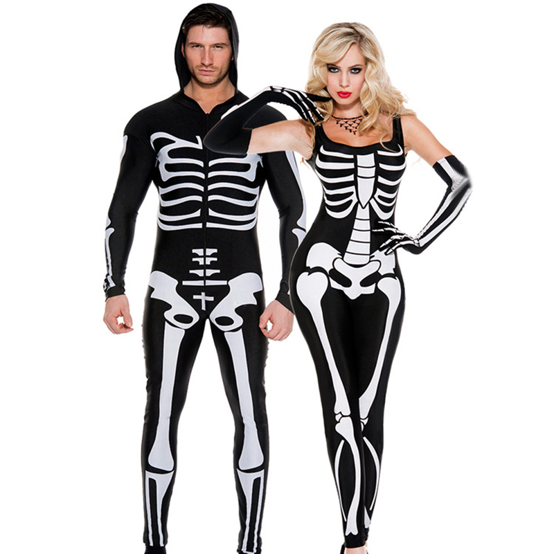 New coco Halloween masquerade party Adult female cosplay costume couple game play clothing tights Ghost Festival