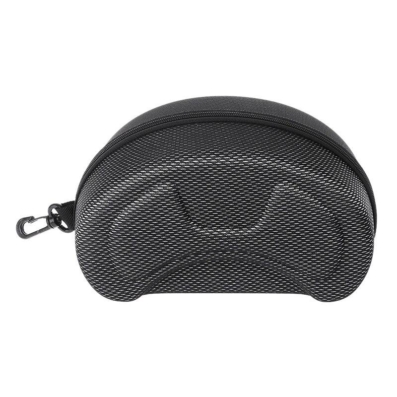 Защитный чехол EVA для лыжных очков, солнцезащитные очки с застежкой-молнией и держателем в твердой коробке
