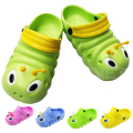 Hot Sell Cute Cartoon 3D Caterpillars Kids Slippers Childrens's Baby Girls Boys Shoes EVA  Breathable Sandals Slipper 3-11 Year