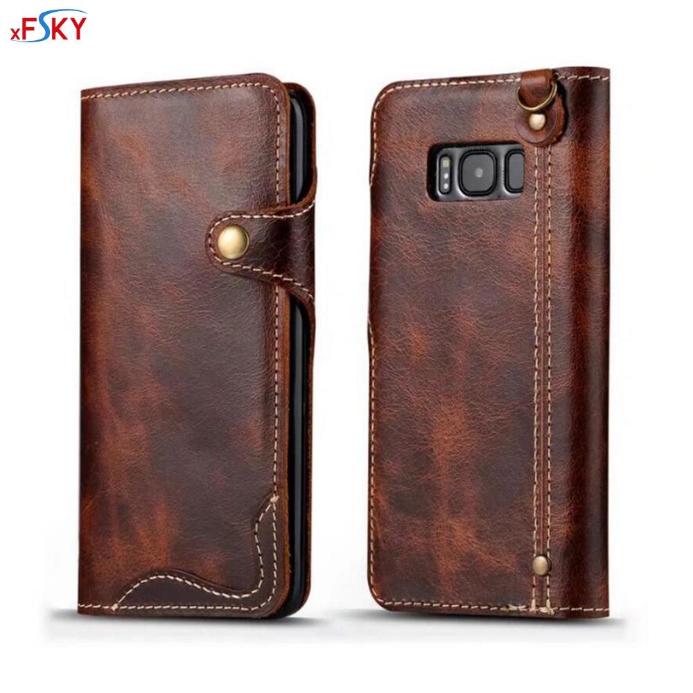 XFSKY Balik Kasus Untuk Samsung Galaxy S8 ditambah Mewah Eropa Tas - Aksesori dan suku cadang ponsel - Foto 1