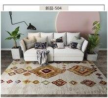 цена на Abstract Paint Carpet Bedroom Bedside Rugs Home Decor Area Rug Non-slip Sofa Table Floor Mat Living Room Carpet Kids Rug