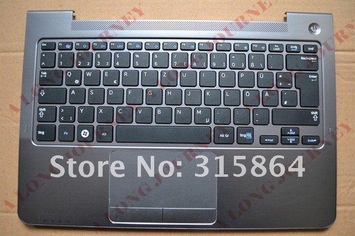 NEW Germany GR laptop Keyboard for SAMSUNG NP 530U3C 530U3B 535U3C 540U3 532U3C Black with speaker and touchpad LOW PRICE
