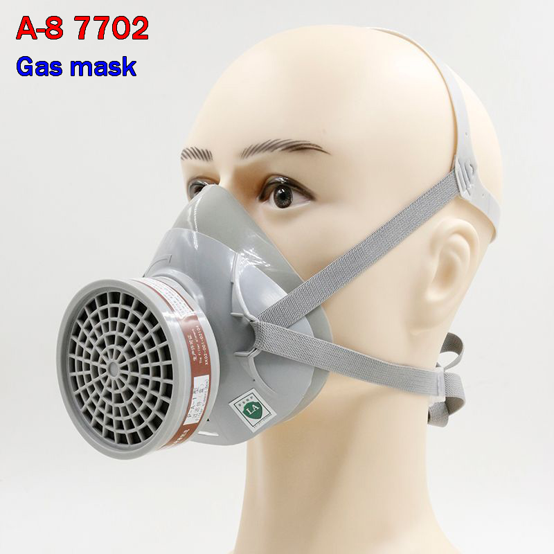 High Quality Respirator Gas Mask A-8 7702 Set Protective Mask Graffiti Spray Painting Pesticide Industrial Safety Gas Mask Discounts Sale Masks Workplace Safety Supplies