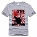 Godzilla T-shirts Anime Cartoon Monster Men T-shirt Shirts UItraman Godzilla Shirts For Men Male Casual 3D Print Cotton Tees