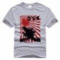 UItraman Godzilla Godzilla T-shirt Anime Monstro Dos Desenhos Animados T-shirt Dos Homens Camisas Camisas Para Homens Casual Masculino de Algodão De Impressão 3D T
