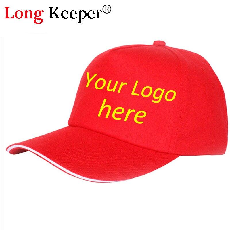 Long Keeper 2017 Fashion Golf Logo Cotton Baseball Cap Sports Golf Snapback Outdoor Simple Solid Hats For Men Gorras 10pcs/lot
