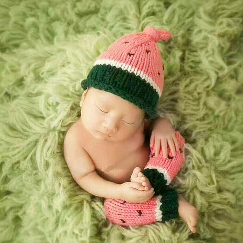 5ed859406 US $13.68 |Baby Girl Boy Cute Crochet Fruit Hat Photography Props  Accessories Newborn Unisex Baby Photo Shoot Props Photography  Accessories-in Hats & ...