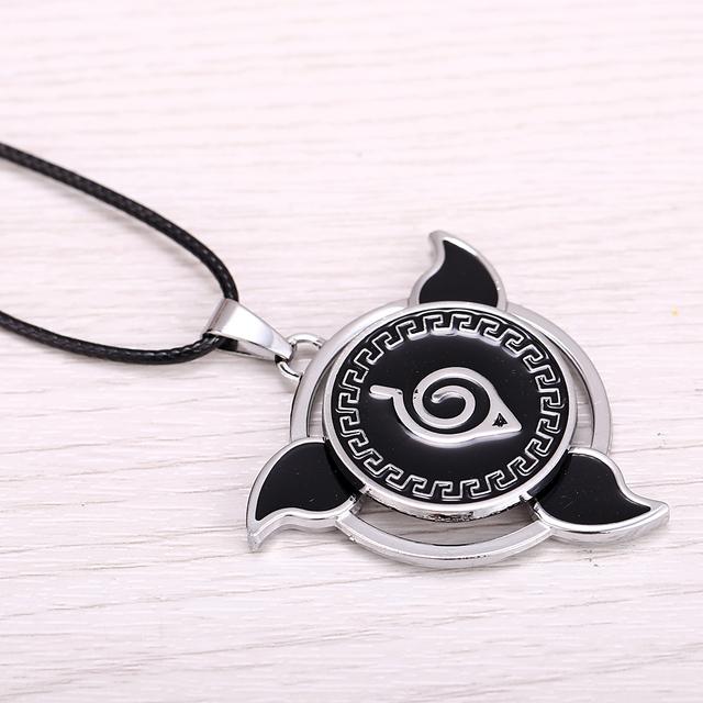 Naruto Rotatable Pendant Necklace