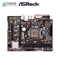 Материнская плата Asrock B75M DGS R2.0 рабочего Материнская плата B75 разъем LGA 1155 i3 i5 i7 DDR3 16 г USB3.0 Micro ATX
