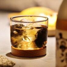 Сдержанной роскоши кристалл вина Стекло с бук лоток База горы дешевые Vidro виски чашки бар навеселе Чивас шоты
