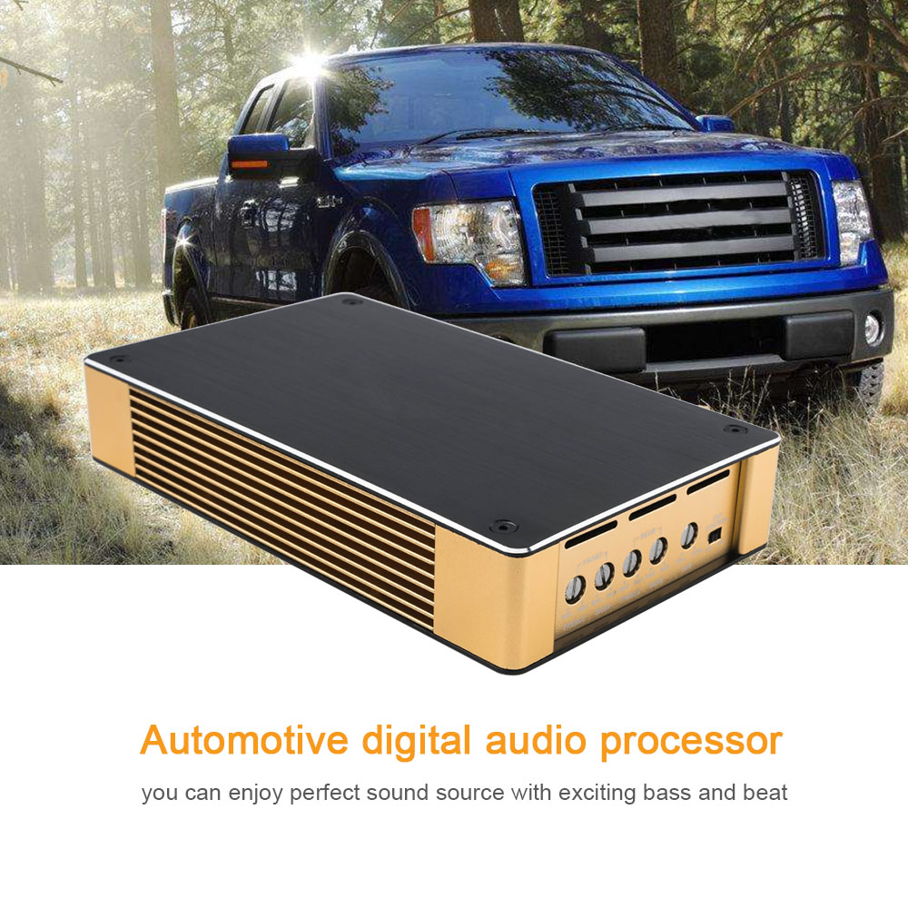 Car Sound Processor For Ford F150 Pickup Car General Sound Processor Audio Tuner DSP car sound processor for ford f150 pickup car general sound processor audio tuner dsp