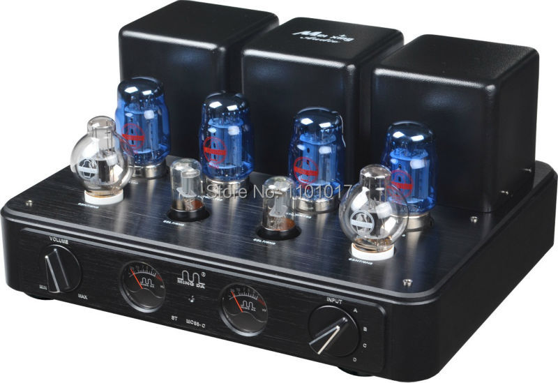 MeiXing MingDa MC88-C KT88 push-pull tube amplifier HIFI EXQUIS integrated lamp amp muzishare x7 hifi push pull kt88 vacuum tube integrated amplifier phono preamp