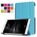 Чехол Для Huawei Mediapad T2 7.0 Pro Роскошные Высокое Качество Кобура флип Кожа PU Стенд Для Mediapad T2 7.0 Tablet Stand Крышки